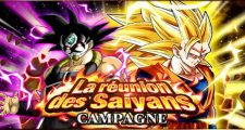 Dragon Ball Z Dokkan Battle : La Réunion des Saiyans