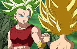 Kale e Caulifla (Dragon Ball Super - Episódio 114)