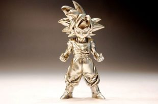 Figurine Dragon Ball Super : Gokû Super Saiyan God - Absolute Chogokin