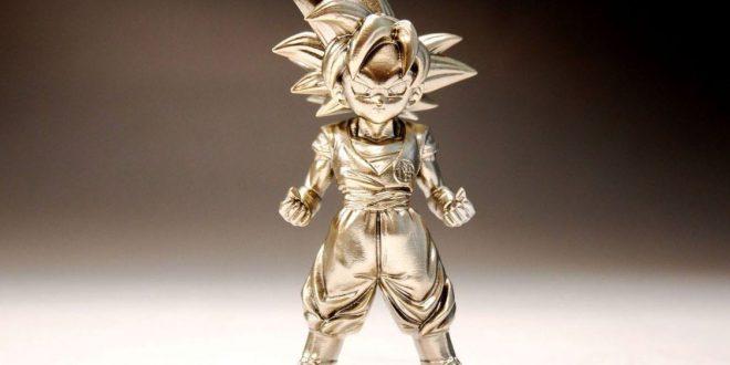 figurine dragon ball z en bronze