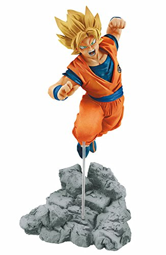 figurine de Super Saiyan Gokû dans Dragon Ball Super.