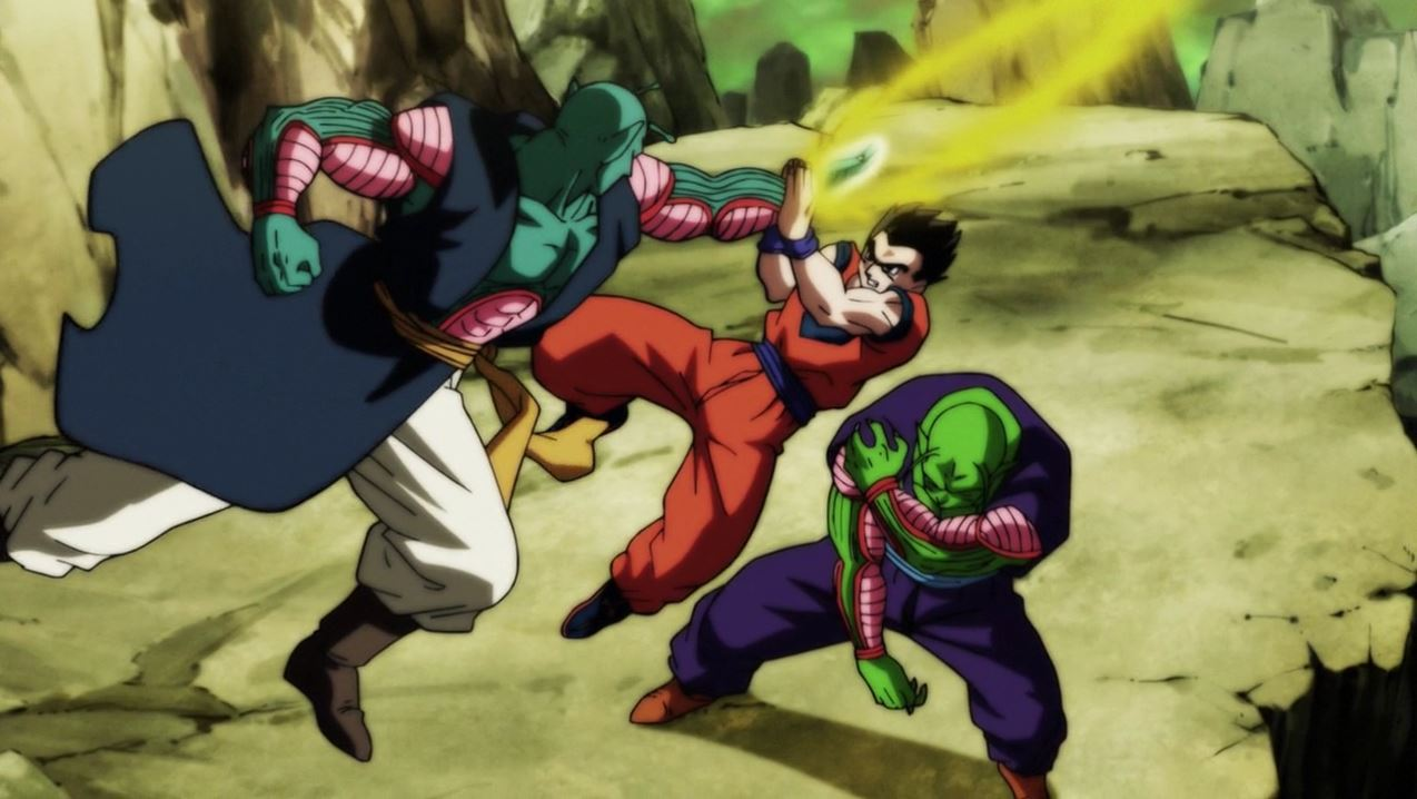 Gohan et Piccolo vs les Nameks de l'Univers 6 dans Dragon Ball Super 112