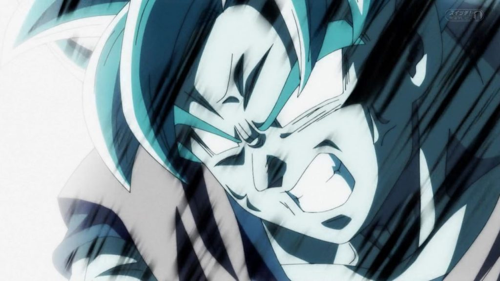 Gokû absorbe le Genkidama pour révéler l'Ultra Instinct