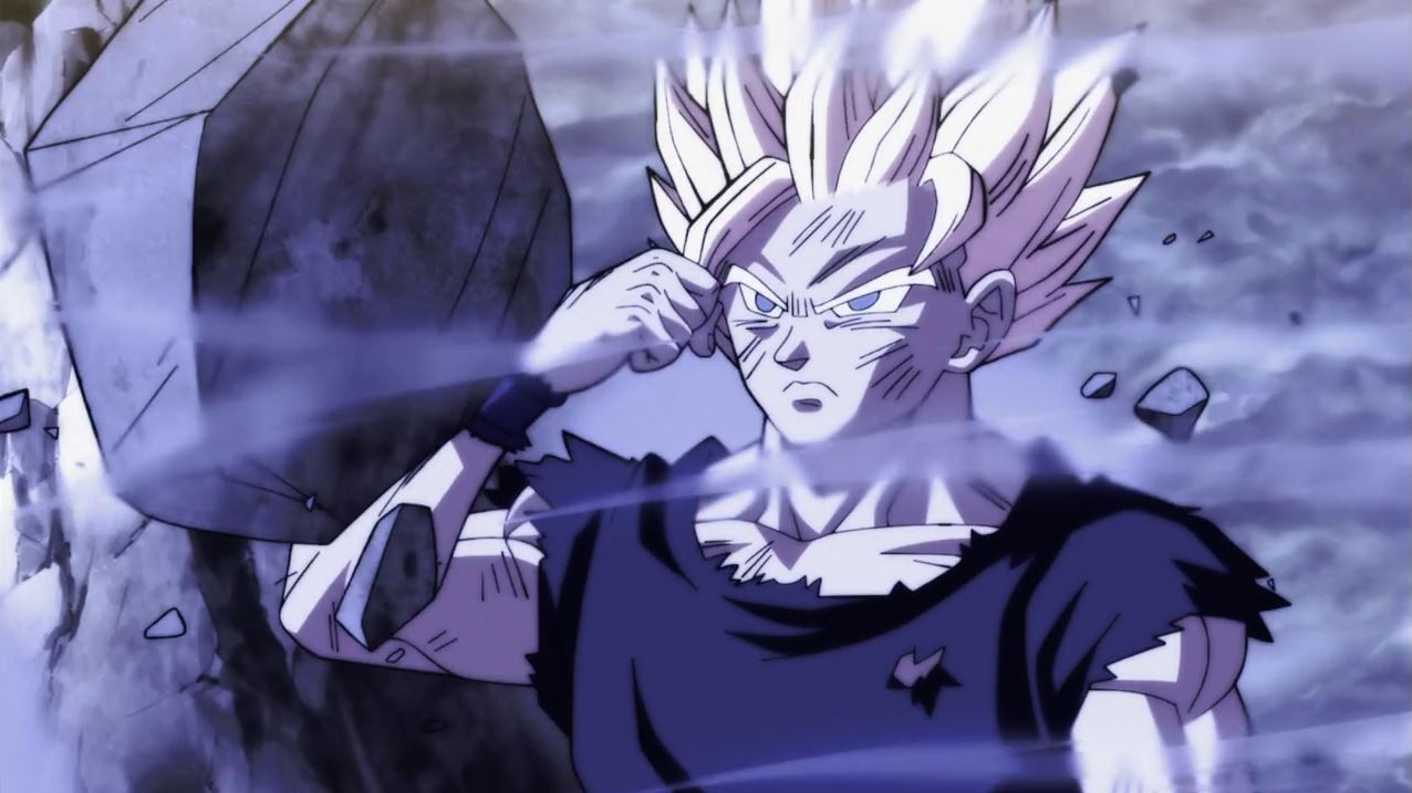 Gokû utilise-t-il l'Ultra instinct ? dans Dragon Ball Super 113