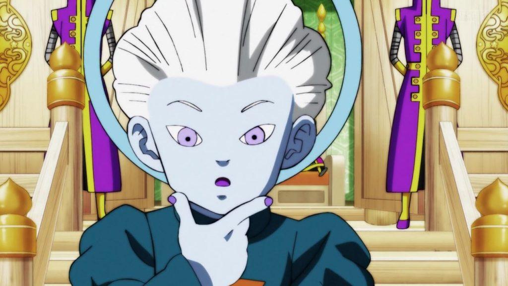Le Daishinkan est surpris de l'Ultra Instinct de Gokû