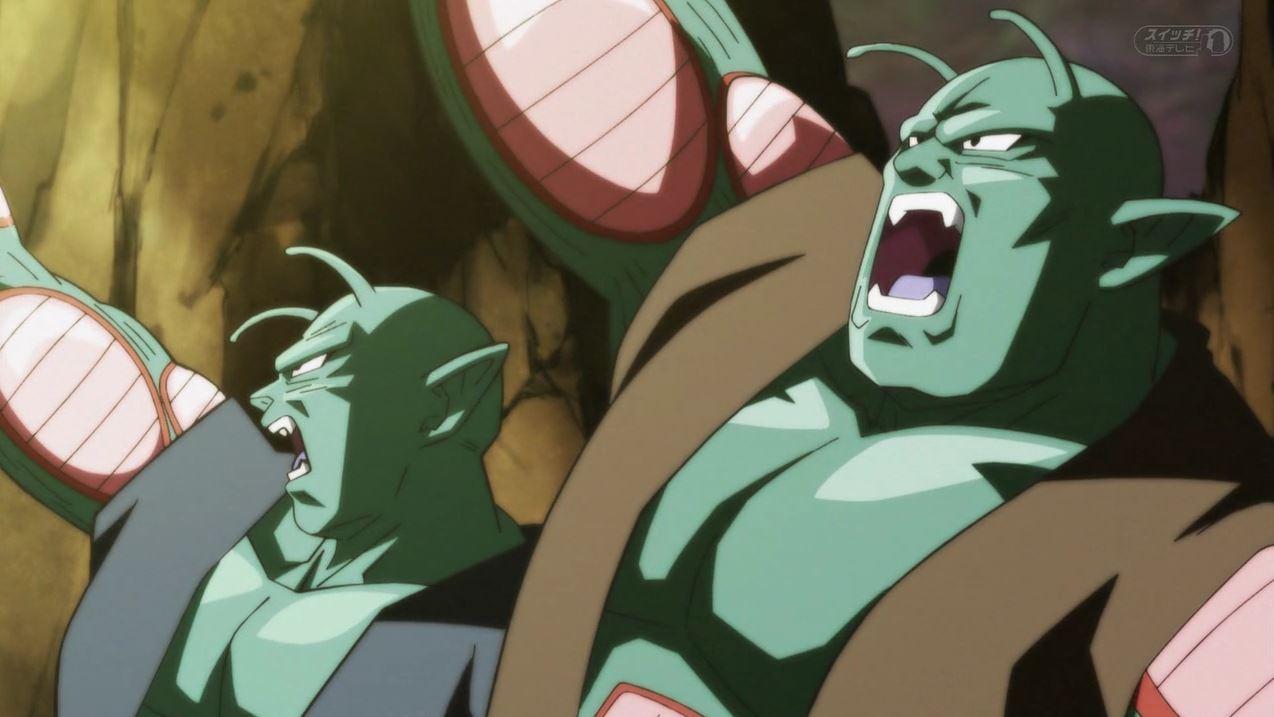 L'appparition des deux Nameks de l'Univers 6 dans Dragon Ball Super 111