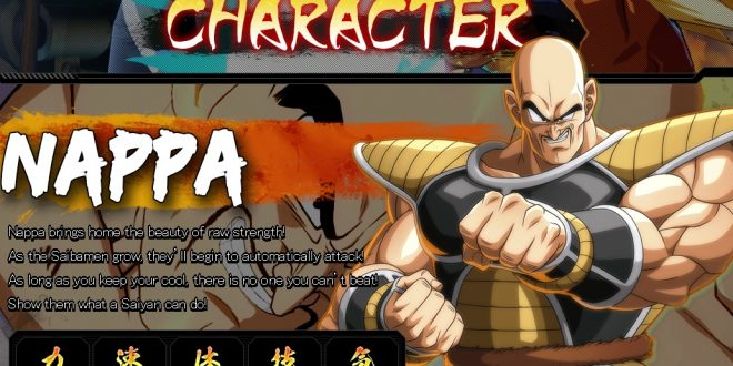 Dragon Ball FighterZ : Les statistiques de Nappa et Ginyu