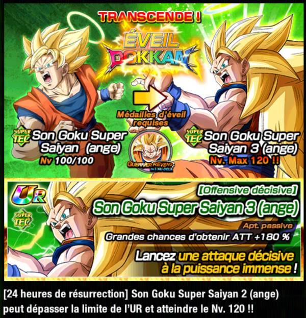 Dragon Ball Z Dokkan Battle : Guerrier Revenu de l'Au-Delà