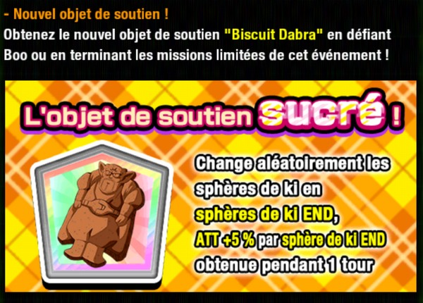 Dragon Ball Z Dokkan Battle : Les Farces et Bonbons de Boo
