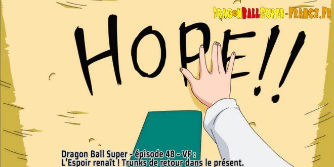 Dragon Ball Super Épisode 48 : Diffusion française