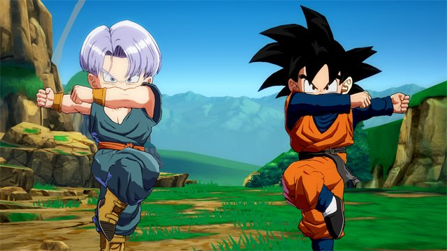 Dragon Ball FighterZ : Trunks et Goten