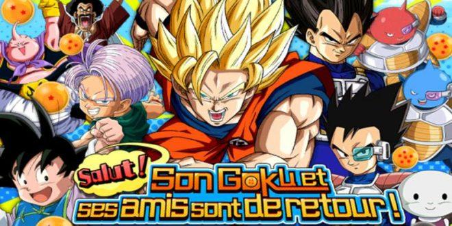 Dragon Ball Z Dokkan Battle : Son Gokû et ses amis sont de retour