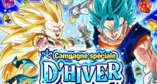 Dragon Ball Z Dokkan Battle : Lancement de la Campagne d'Hiver