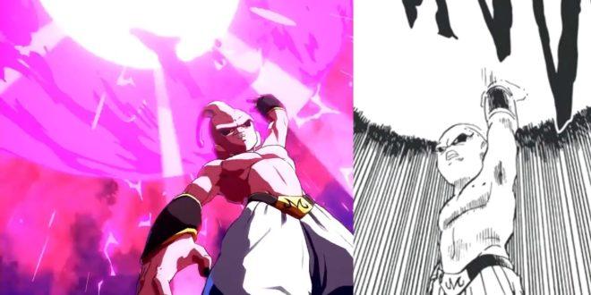 Dragon Ball FighterZ : Les références de Gotenks et Majin Buu Pur au manga et à l'anime