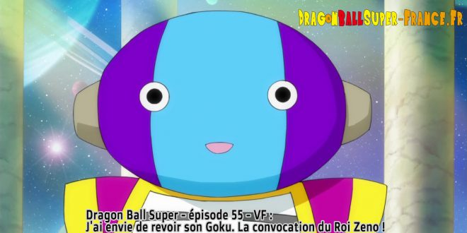 Dragon Ball Super Épisode 55 : Diffusion française