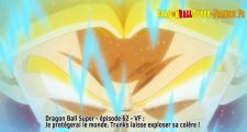 Dragon Ball Super Épisode 62 : Diffusion française