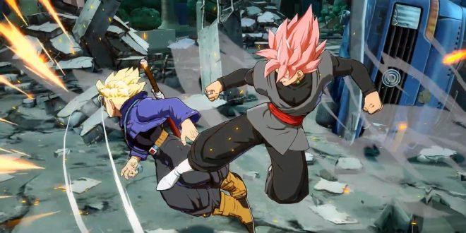 Dragon Ball FighterZ : Premier match avec Gokû Black, Hit et Beerus