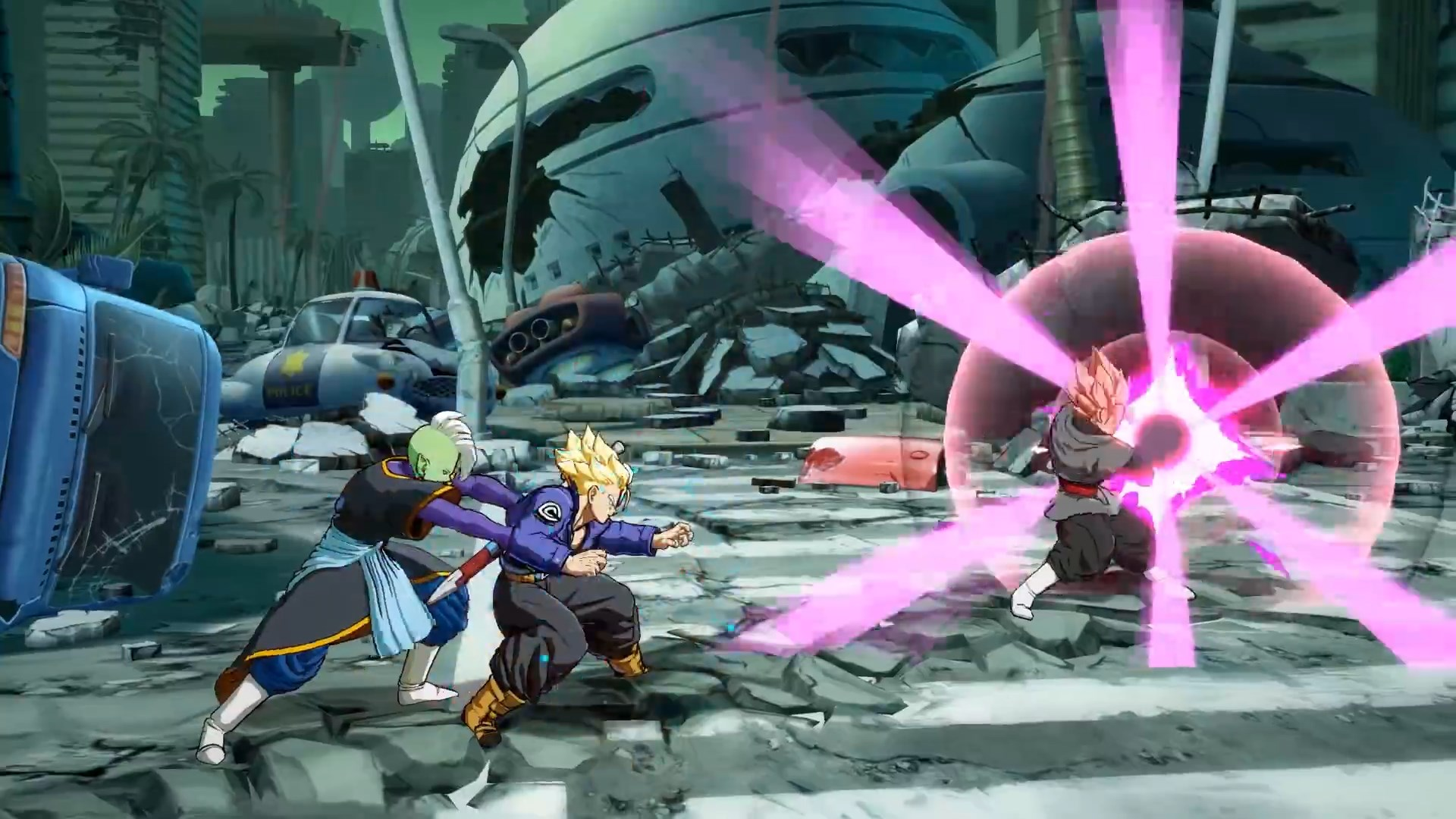 Dragon Ball FighterZ - Gokû Black Rosé et Zamasu
