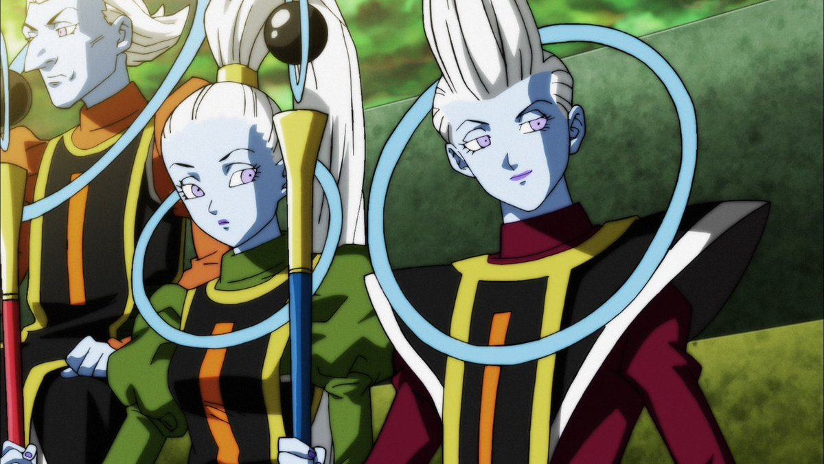 Vados e Whis (Dragon Ball Super - Episódio 122)