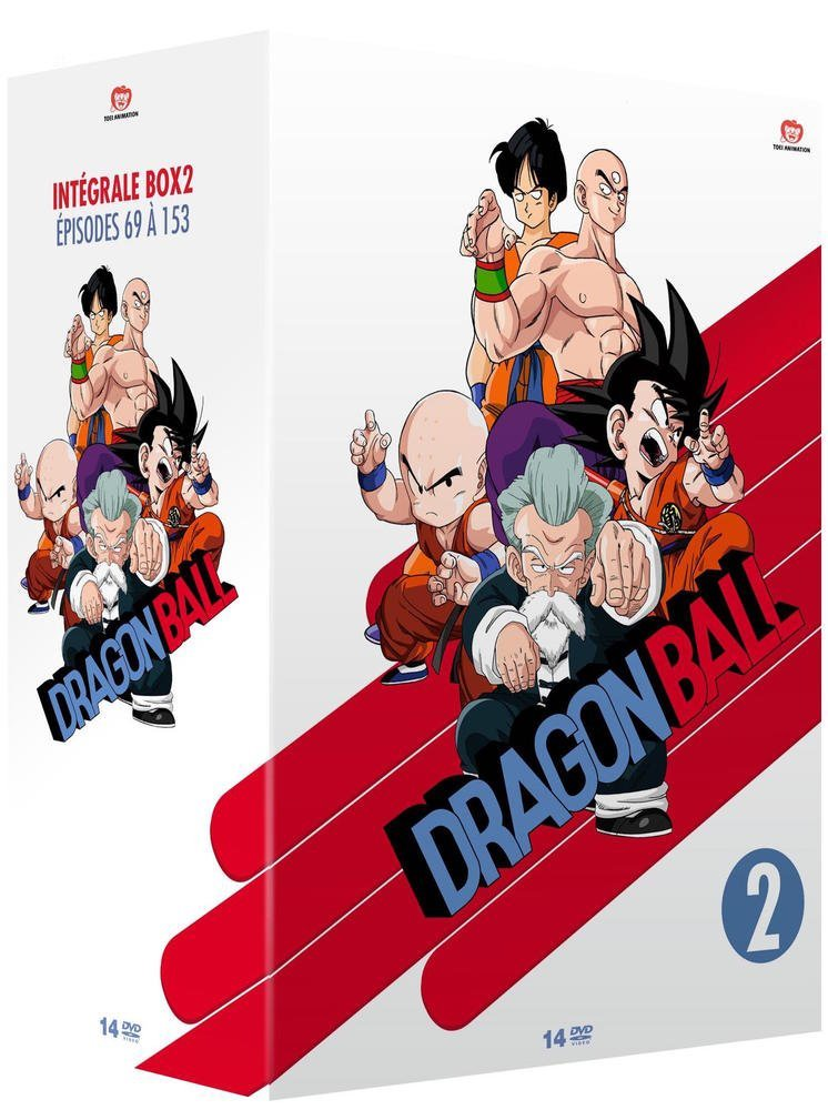 Dragon Ball : Intégrale Box 2 : Épisodes 69 à 153 [Non censuré]