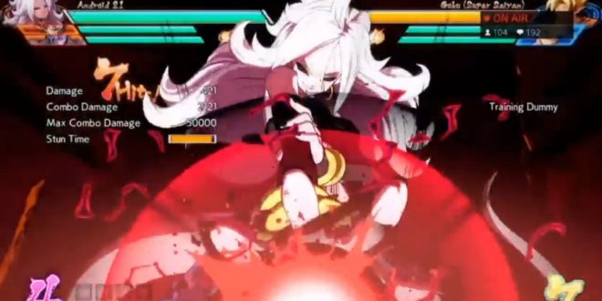 Dragon Ball FighterZ : 7 minutes de gameplay d'Android 21
