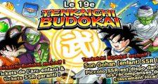 Le 19ème Tenkaichi Budokai dans Dragon Ball Z Dokkan Battle a commencé - Gohan