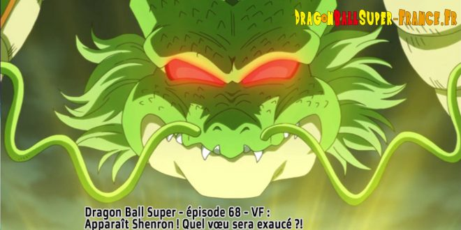 Dragon Ball Super Épisode 68 : Diffusion française