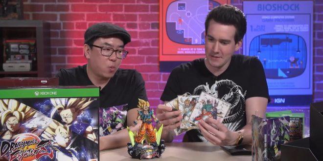 Unboxing du collector de Dragon Ball FighterZ