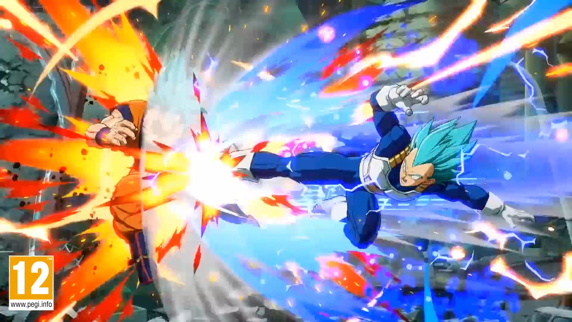Dragon Ball FighterZ : Vegeta SSJ Blue (SSGSS)