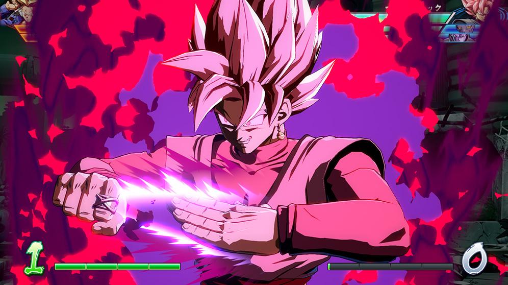 Dragon Ball FighterZ Gokû Black SSJ Rosé