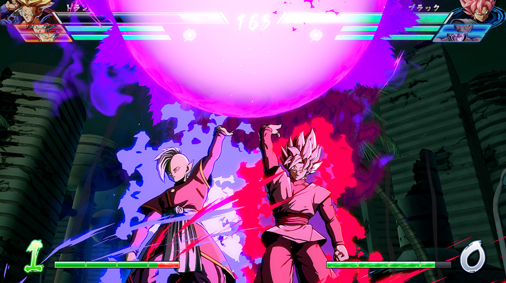 Dragon Ball FighterZ Gokû Black SSJ Rosé et Zamasu