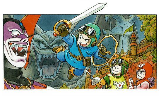 Presque toutes les œuvres d'Akira Toriyama – 26 Janvier 2018 - Dragon Quest