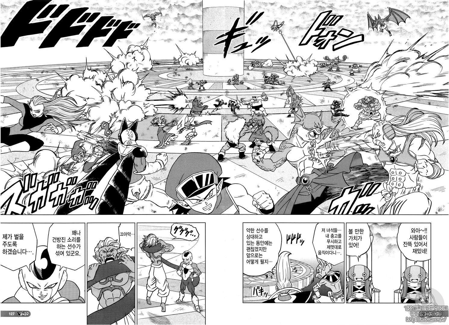 Dragon Ball Super - Torneio do Poder no Mangá