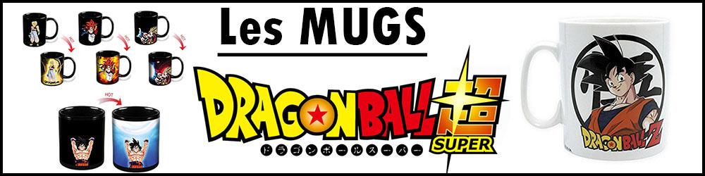 Acheter des mugs Dragon Ball Super au meilleur prix