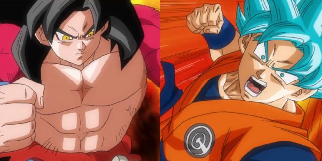 Sortie et histoire de la Universe Mission 1 de Super Dragon Ball Heroes - Goku ssj4 vs Goku SSBlue