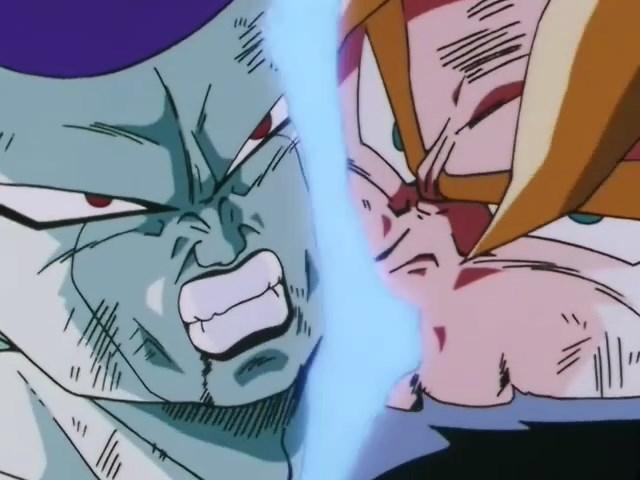 Gokû vs Freezer