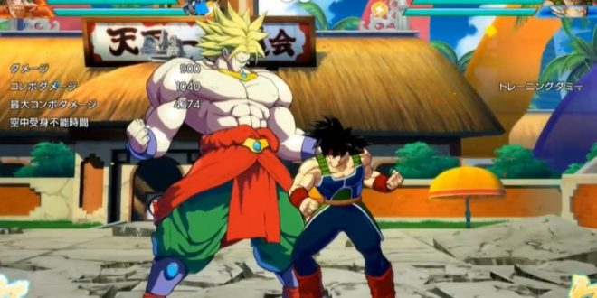 Dragon Ball FighterZ : Gameplay de Bardock et Broly