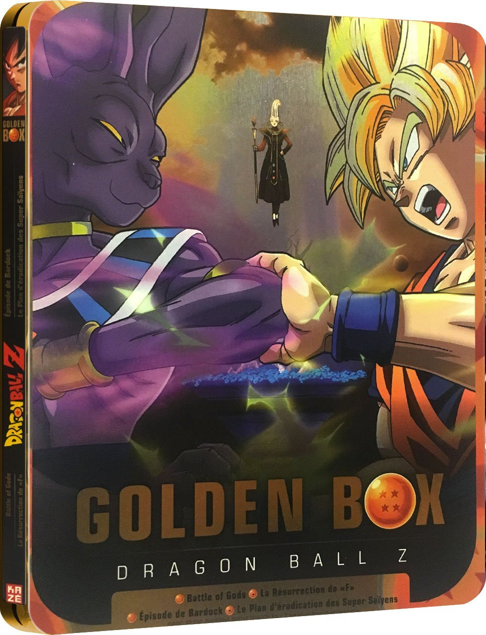 Dragon Ball Z - Golden Box - Steelbox Collector