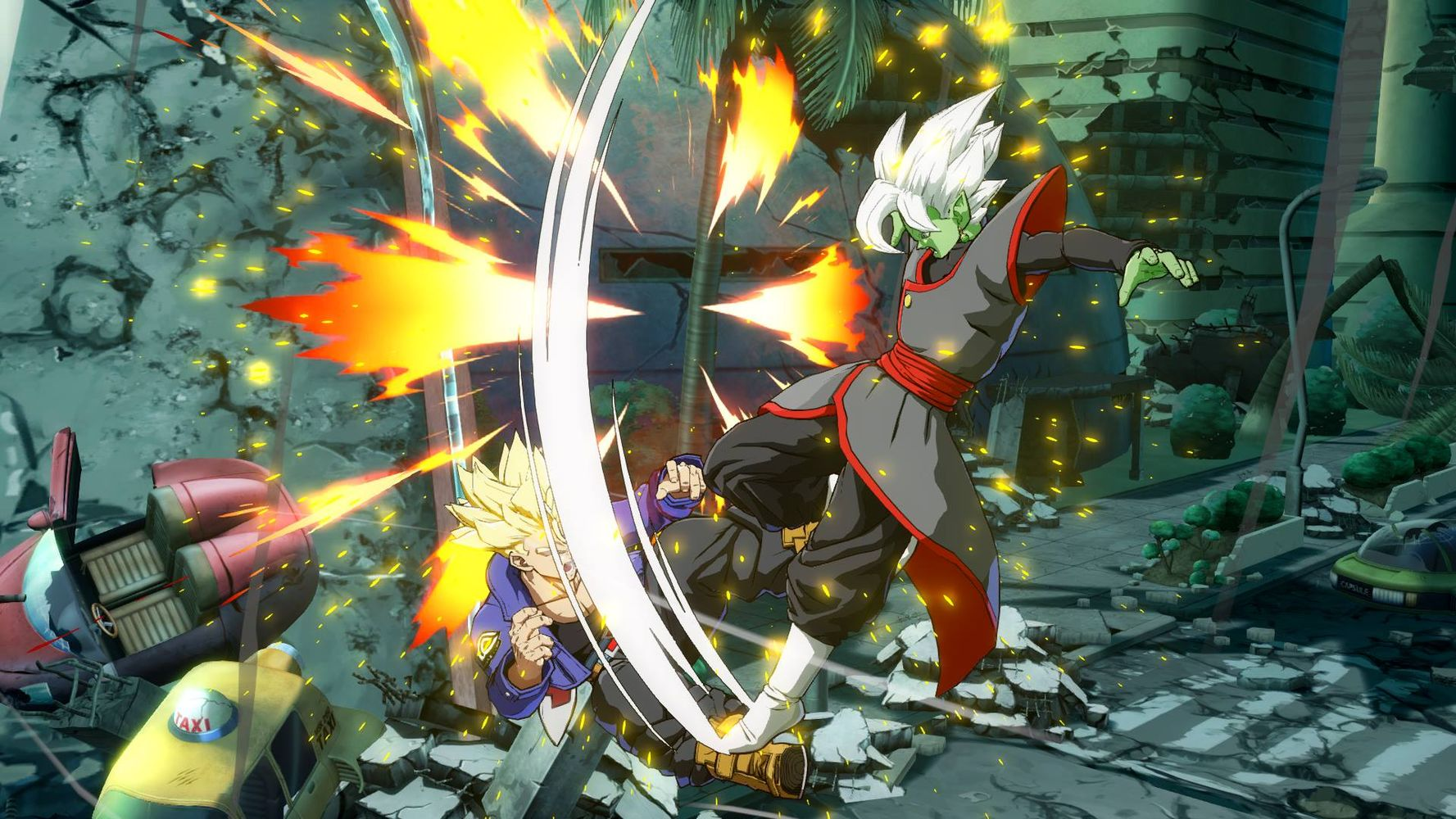 Dragon Ball FighterZ : Zamasu Fusionné