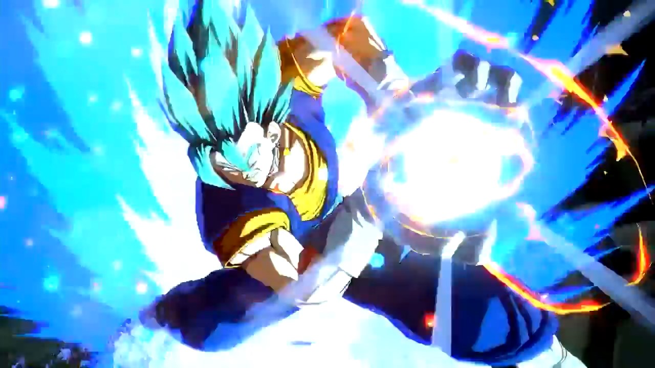 Dragon Ball FighterZ Vegetto Blue