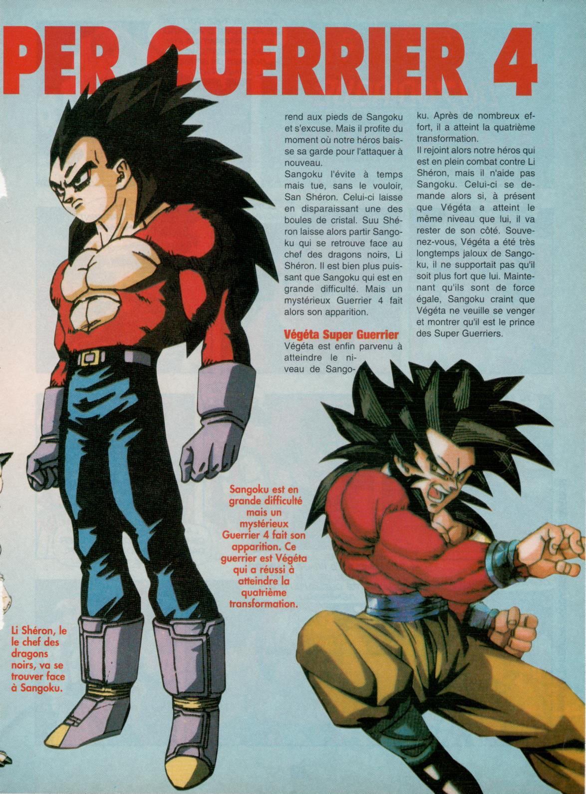 Dragon Ball Z – Nostalgie Club Do 21 - Vegeta Super Saiyan 4