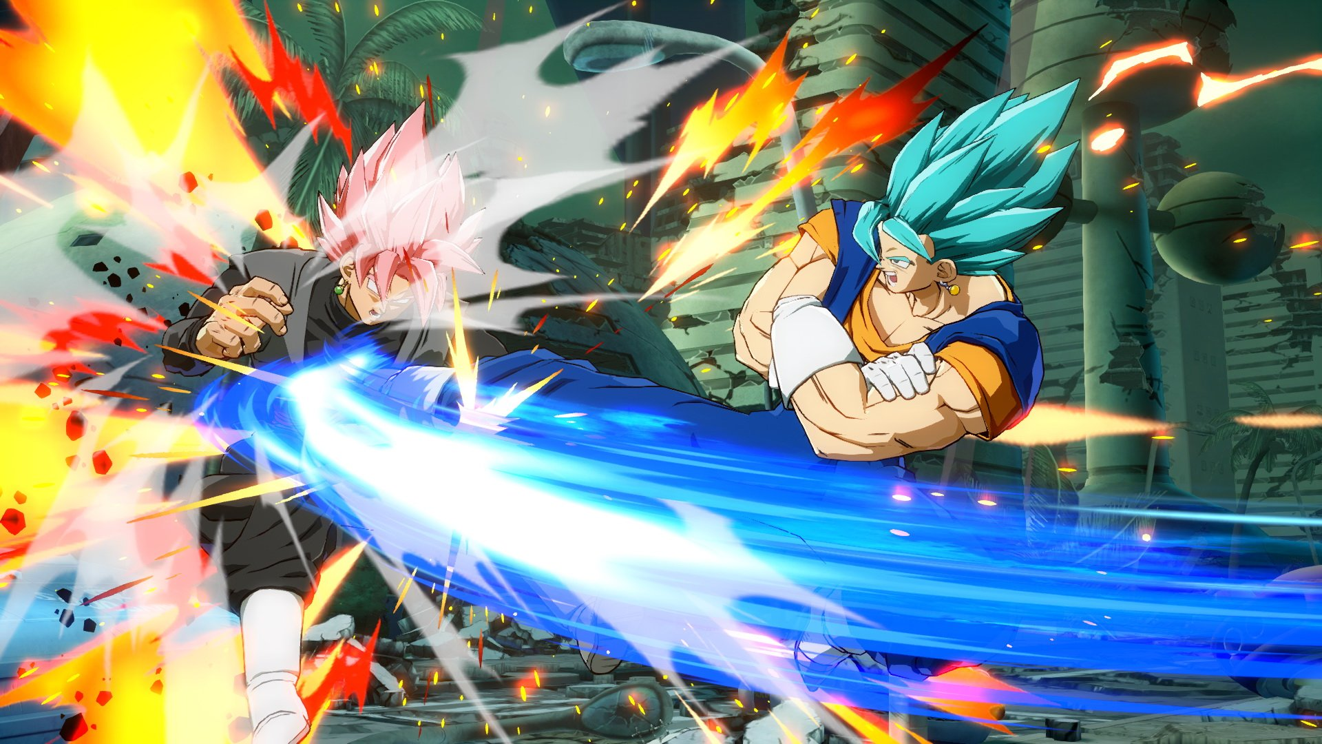 Dragon Ball FighterZ : Vegetto Blue