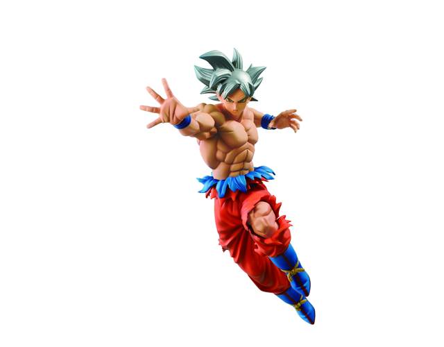 Lot A - Figurine Gokû Ultra Instinct maitrisé
