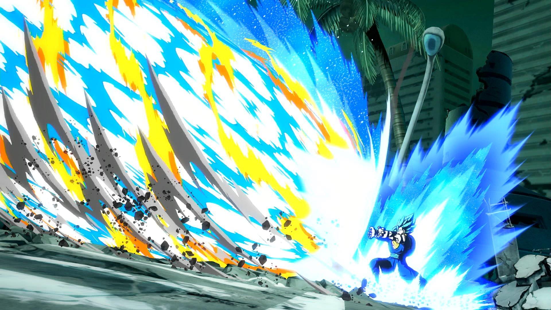 Dragon Ball FighterZ : Vegetto Blue Final Kamehameha