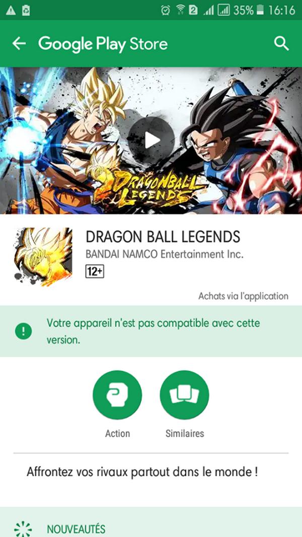 La FAQ Dragon Ball Legends
