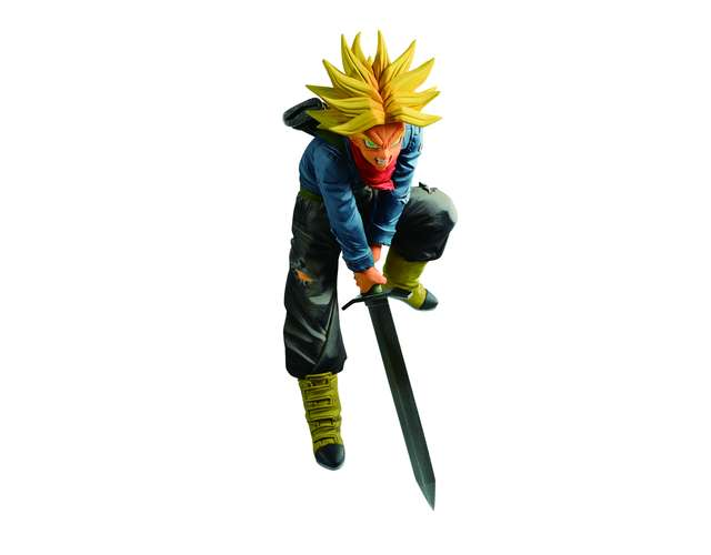 Lot D - Figurine Trunks Super Saiyan