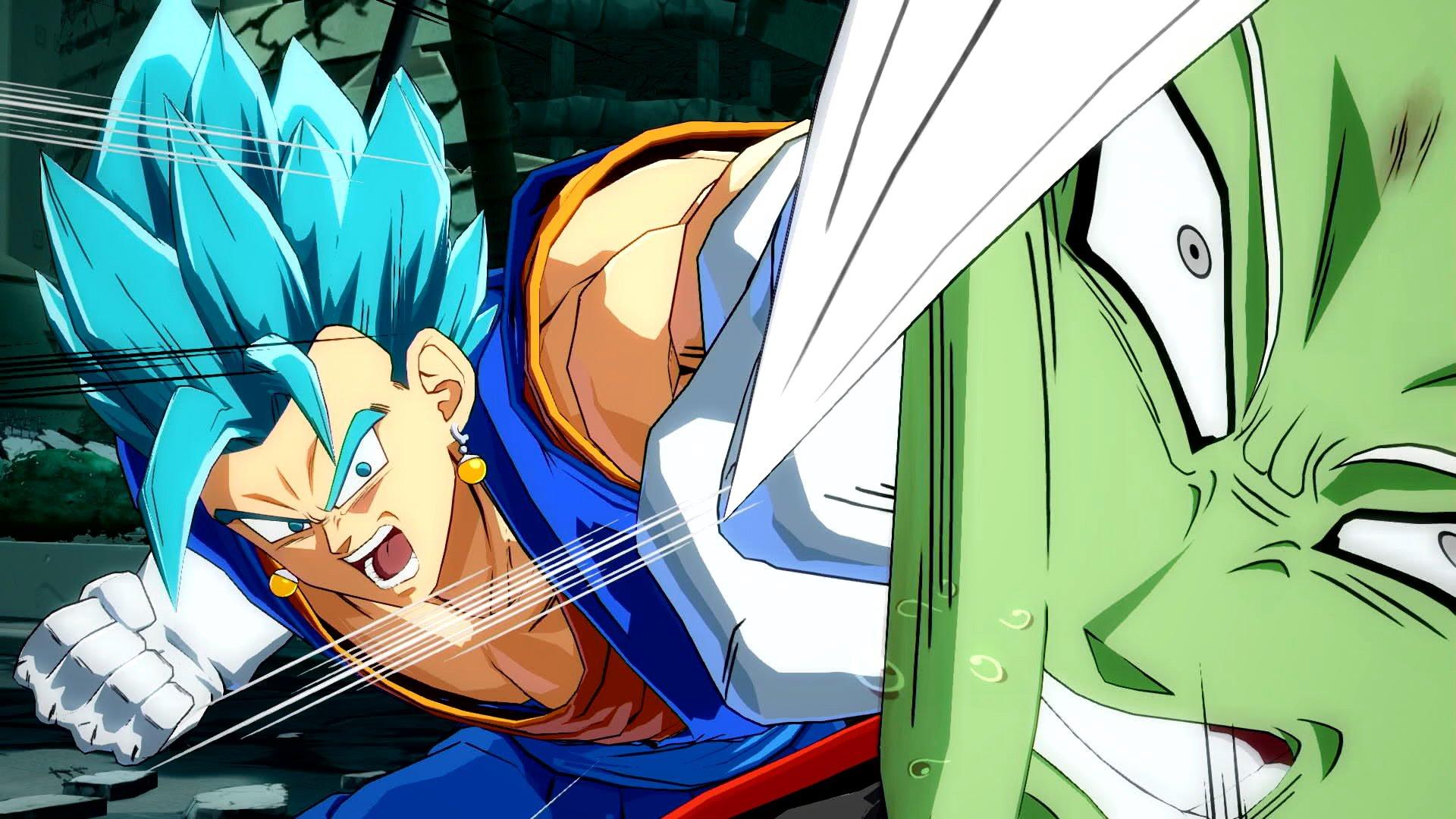 Dragon Ball FighterZ : Vegetto Blue VS Zamasu Fusionné