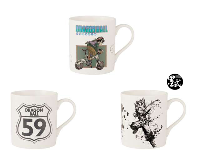 Lot G - 3 Mugs Dragon Ball