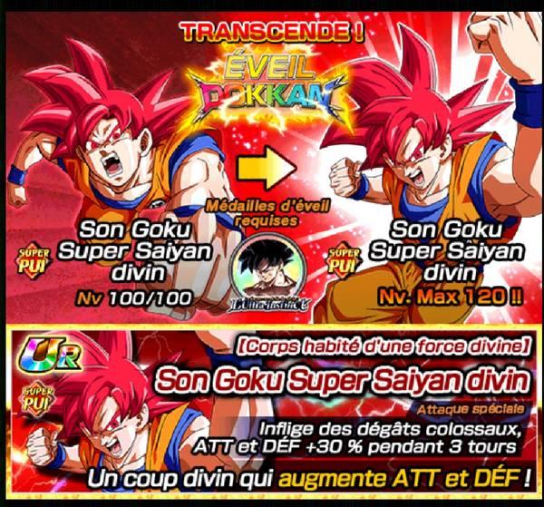 Dragon Ball Z Dokkan Battle : La forme au-delà du divin - l'Ultra Instinct