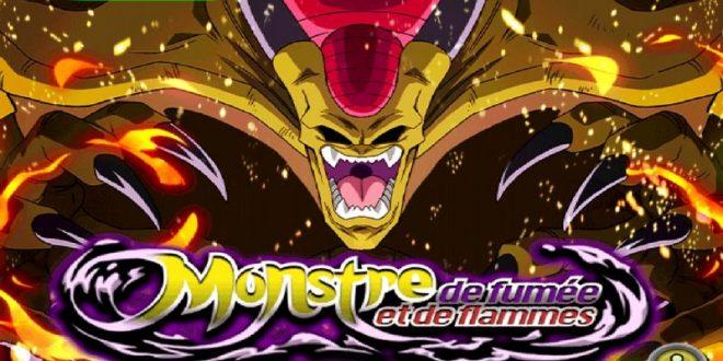 Dragon Ball Z Dokkan Battle : Monstre de Fumée et de Flammes